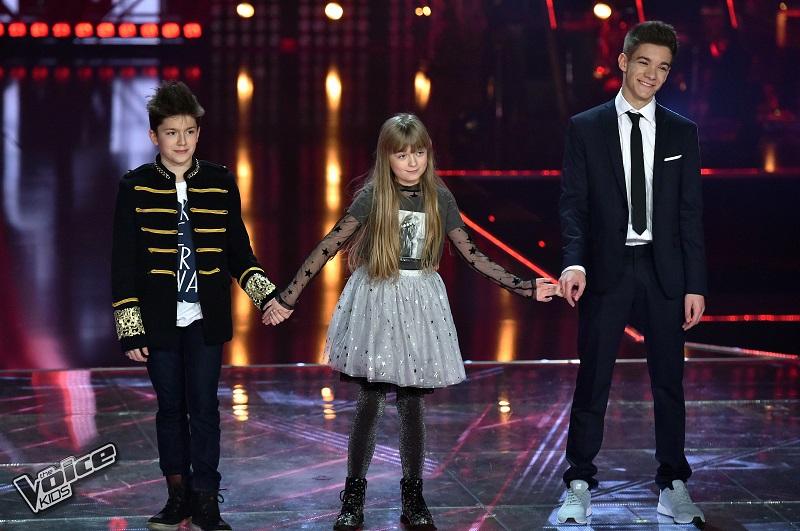 The Voice Kids finalKuba SzmajkowskiNela ZawadzkaAntek Scardina finalista