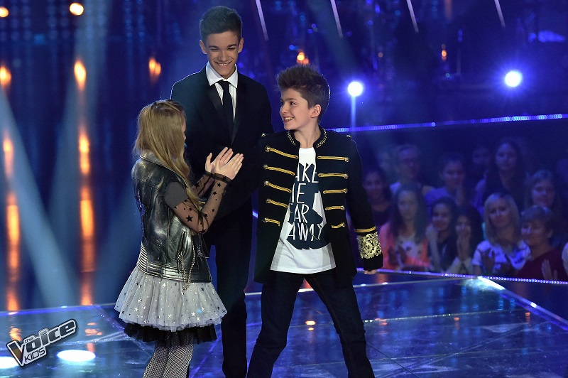 The Voice Kids finalNela ZawadzkaAntek Scardina finalista
